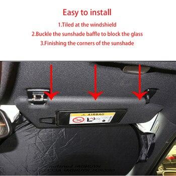 車のフロントのフロントガラスサンシェード Bmw F30 F10 F20 E60 E61 E91 E92 E93 F07 G30 X1 X3 X4 保護シールドバイザーカバーアクセサリー