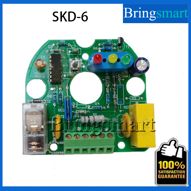 SKD-6 Electronic Automatic Switch Control Panel Booster Pump Pressure Controller sk 1 2 double pole water booster pump pressure control switch automatic booster pump controller