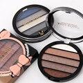 MISS ROSE 5-Color Academy Make-up Palette Set Shimmer Eyeshadow  Long-lasting 7001-065NT