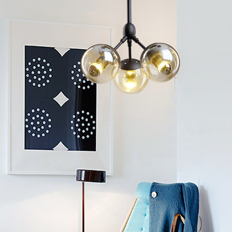 American style chandelier restaurant lights industrial hanging lights retro lighting living room bedroom chandeliers new american all copper chandelier gold 6 8 10 lights water shade luster led lighting living room restaurant lamp