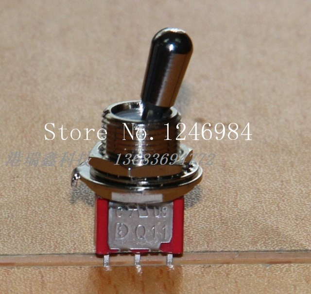 [SA]M12 bulk Toggle <font><b>T8013</b></font>-Z single two tranches of high-quality short-throw switch 1MS1 Deli Wei dust--50pcs/lot image