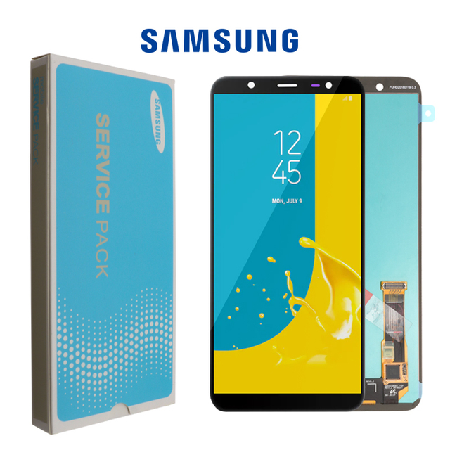 6.0 SUPER AMOLED for SAMSUNG Galaxy J8 2018 Display Touch Screen Replacement For Galaxy J810 J810F SM J810F LCD Display