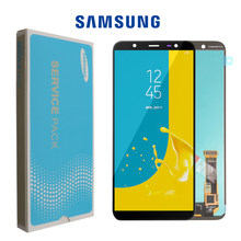 SUPER AMOLED 6.0'' LCD for SAMSUNG Galaxy J8 2018 Display Touch Screen Replacement For Galaxy J810 J810F SM-J810F LCD Display(China)