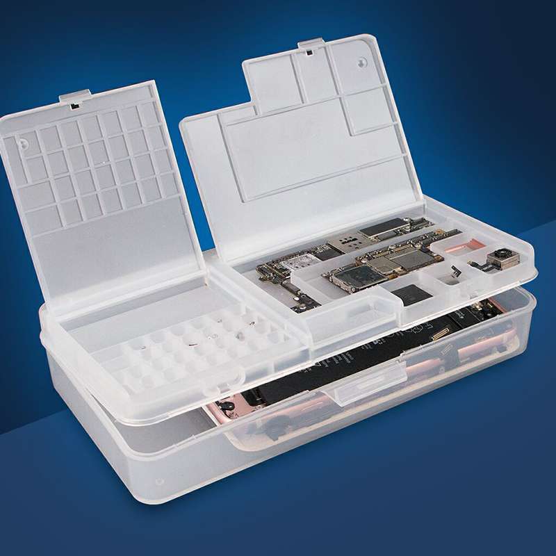 SS-001A Muti-function Storage Box Screw Storage Box Electronic Components Hand Tool Organizer Holder Case For Phone Repair
