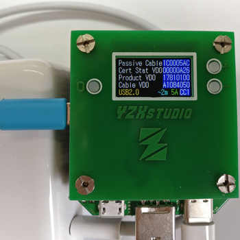 ZL1100 Programmable Electronic Load 0-3A PD3.0 QC4.0 Measures Charger Fast Charging Protocol Battery Capacity