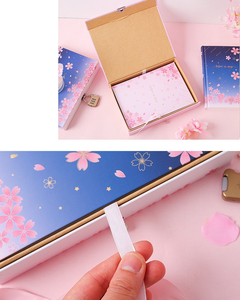 "Image 5 - ""סאקורה קסם"" מנעול תיבת יומן חמוד יומן בנות מכתבים מתנה"