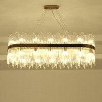 Rings Pendant light lamp LED circle modern Hanging lights for living room acrylic Lampara de techo indoor Lighting