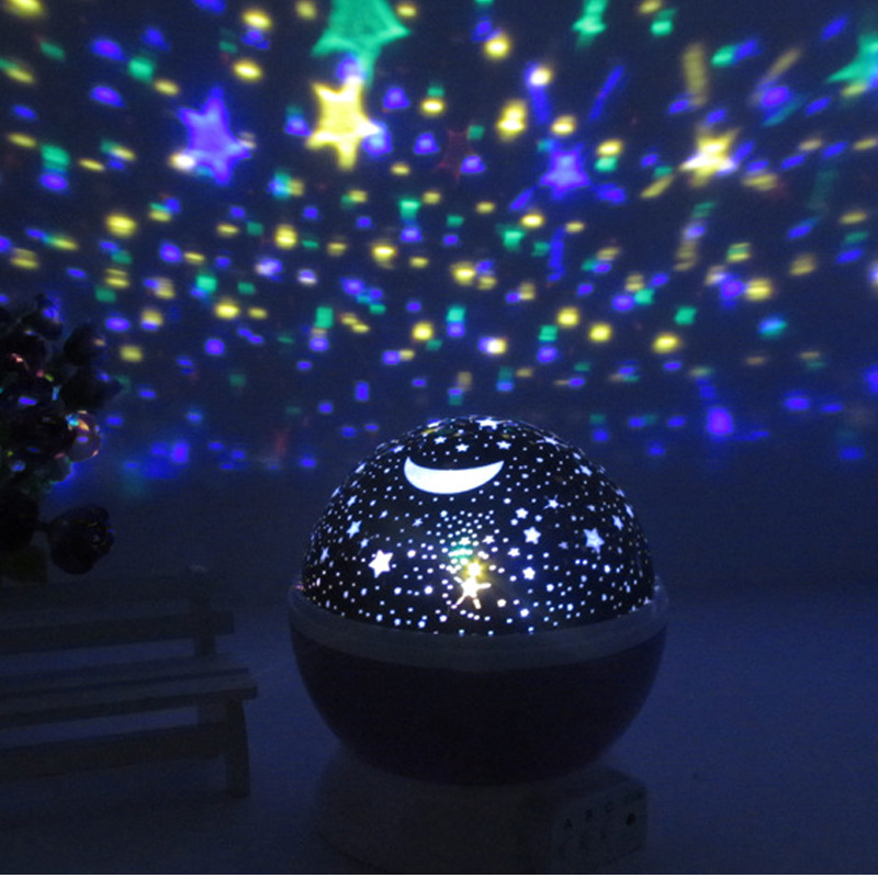 Romantic Starry Sky LED Night Light Projector USB Battery Novelty Luminous Toys For Children Kids Girls Boys Birthday Gift