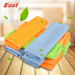 Image 2 - East 5 Pcs 30x40CM Microfiber Glass Towel Window Windshield Cleaning Cloths Eyeglass Towels Fast Drying Durable Glass Taps