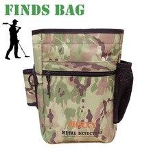 金属検出器ポーチバッグ掘り供給宝ウエストパック幸運発見バッグガーデン検出ツールシャベルバッグ