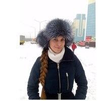 Куртка-бомбер шапка из натурального меха енота fox меховые шапки для женщин earflap шапочки hat меха лисы шапочка с ушками