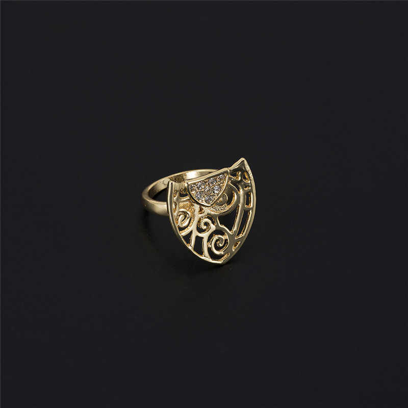 MUKUN Fashion femme Parure bijoux turecka biżuteria Bisuteria złoty kolor hollow out naszyjnik zestawy kolczyków biżuteria ślubna