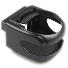 4 Colors Car Vents Cup Rack, Car Water Drink Cups Insert Holder for Vehicle Automobile,(8.5 * 9.5 * 5.5cm,Black)