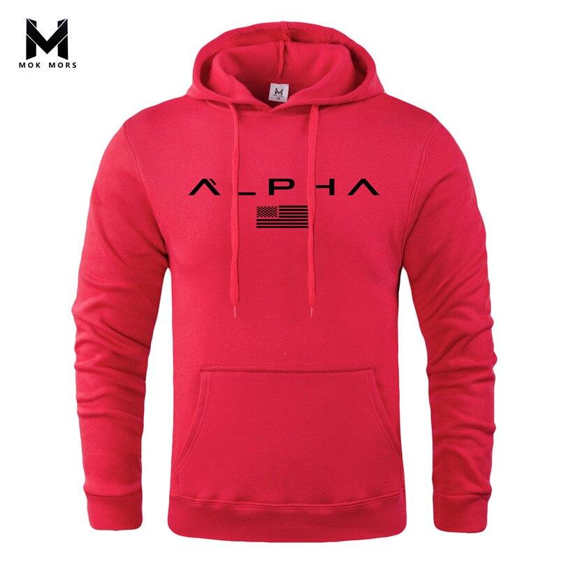 Fleece Sweatshirt Clothing Pullover Hoodies Print Bodybuilding Autumn Casual Players