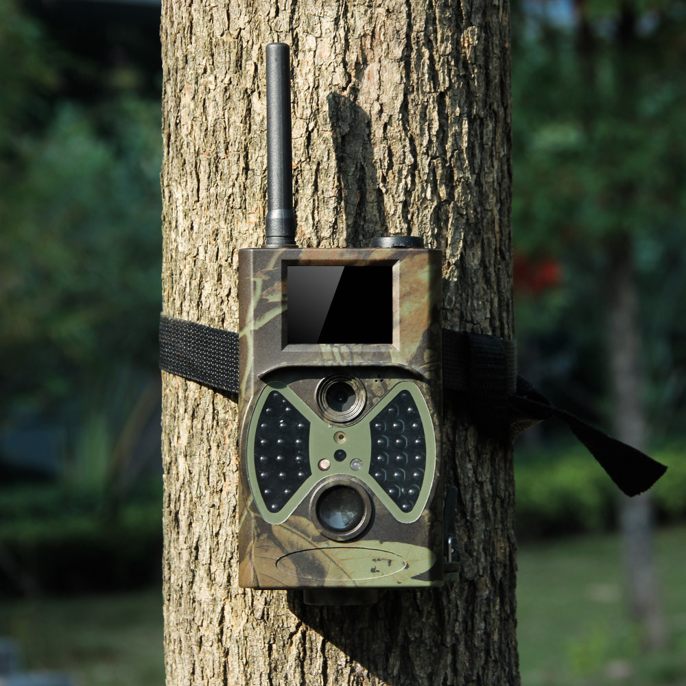 12MP Night Vision MMS/GPRS GSM hunting trail camera HC300M wireless security camera HC-300M