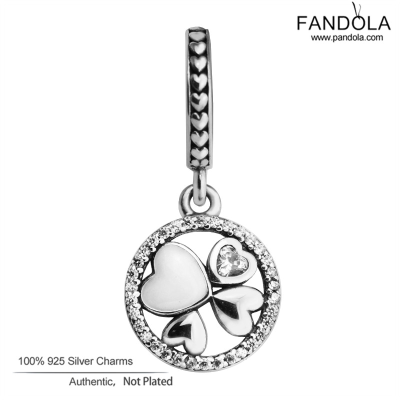 Hearts of Love Dangle Charms Fit Snake Chain Armbanden 925 Sterling - Fijne sieraden