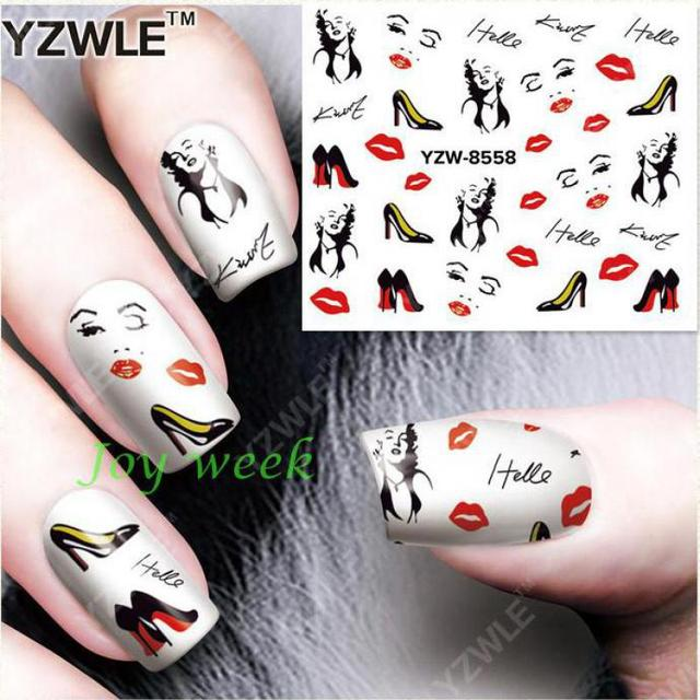 Aliexpress.com : Buy Water sticker for nails art all decorations ...