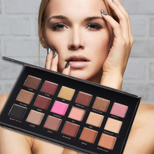 Get more info on the 18Color Pearl Light Matte  Eyeshadow Palette Smoky Cosmetic Set 18 colors Professional Natural Matte Makeup Eye Shadow