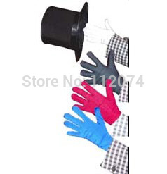 Color Changing Gloves,A multiple Quick Change with gloves! - Stage magic trick, Card magic,accessories,gimmick got it covered umbrella magic magic trick magic device stage gimmick illusion card magic