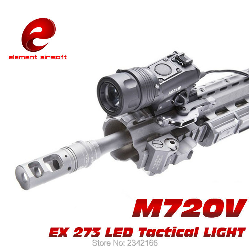 ФОТО EX 273 Element M720V TACTICAL LIGHT LED Weapon Light tactical flashlight STROBE VERSION
