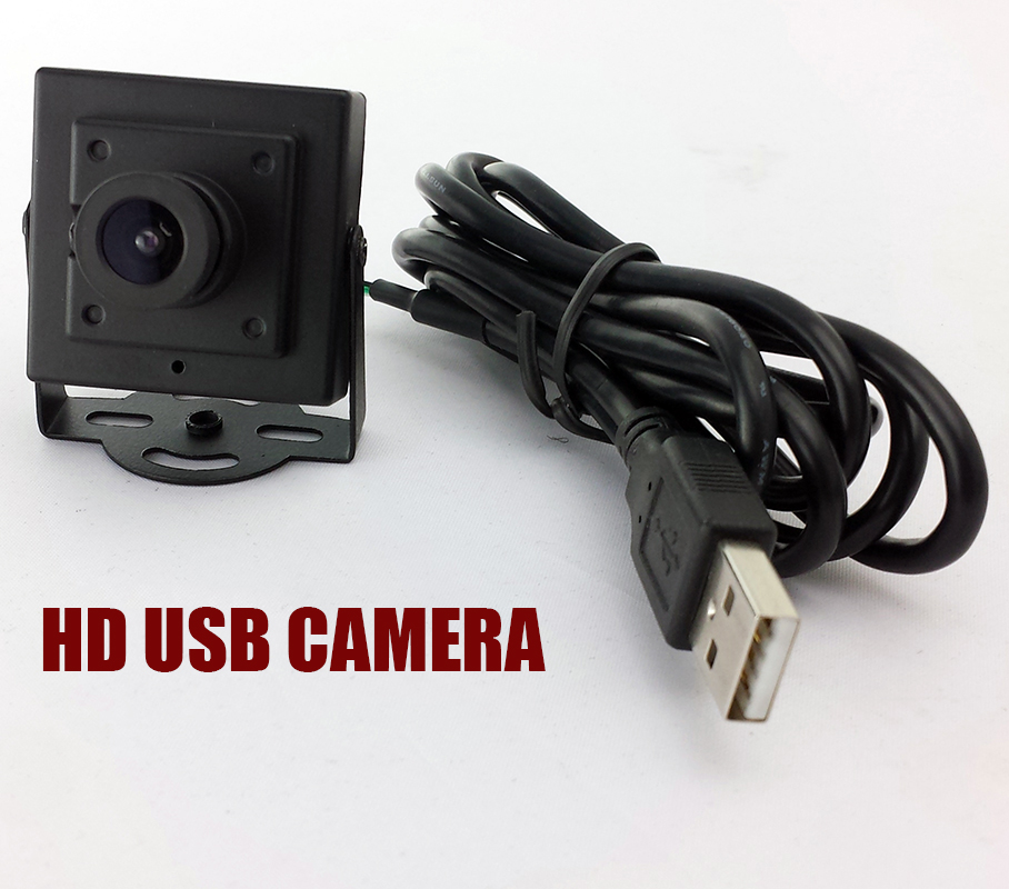 Mini USB HD 720P CCTV Camera 3.6MM lens usb camera mini pc webcam free shipping a870 pc webcam usb driver free built in mic computer camera