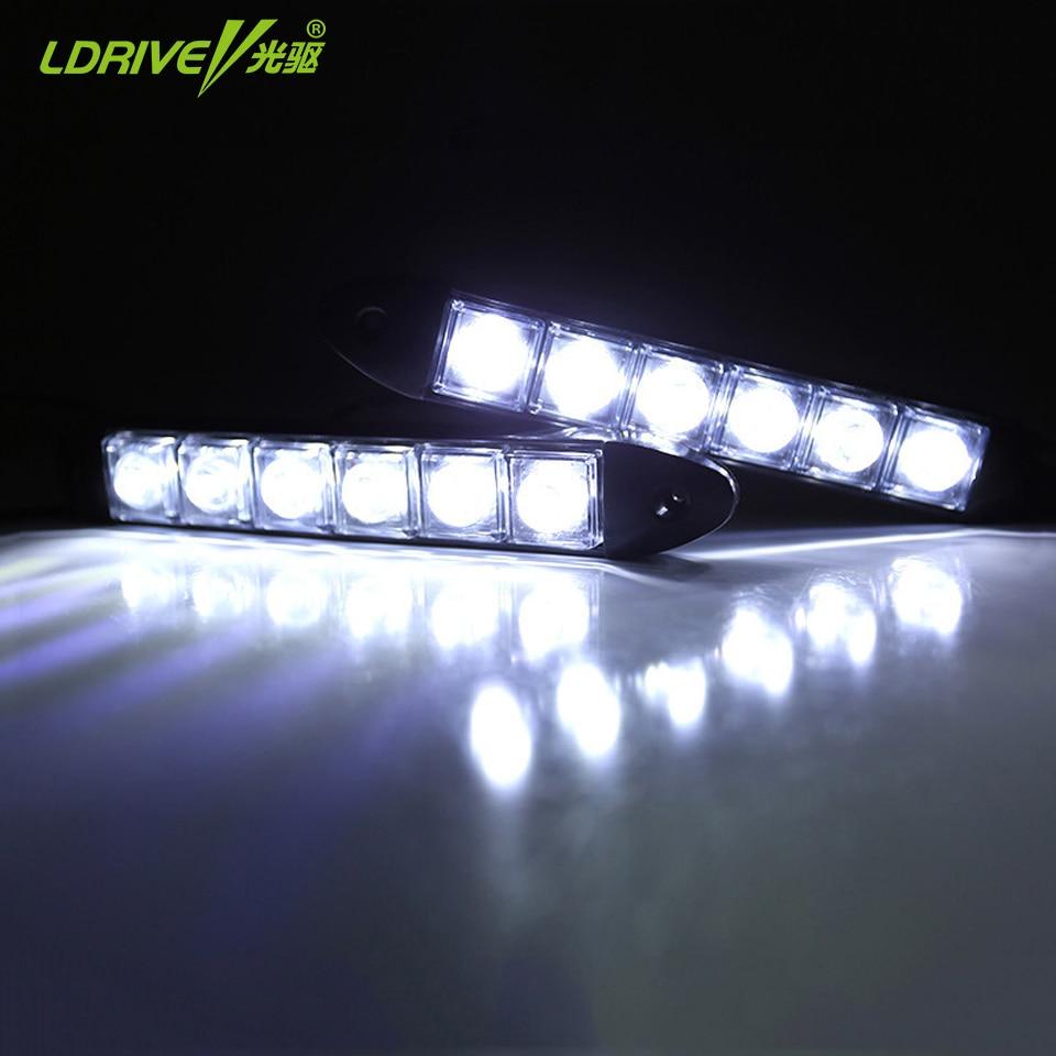 2Pcs / παρτίδα Ευέλικτο DRL LED Φώτα ημέρας - Φώτα αυτοκινήτων - Φωτογραφία 2