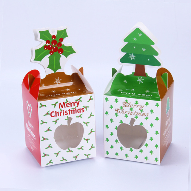 8PCS /LOT Mounted Christmas gifts Creative candy/ Gingerbread/ cakes ...
