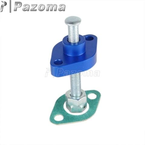 camera de reembolso manual aluminio azul