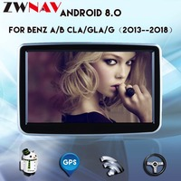 8 Inch Android 8.0 Android Radio IPS Screen Car GPS Navigation For Mercedes Benz A B G CLA GLA 2013 2018 DVD Player