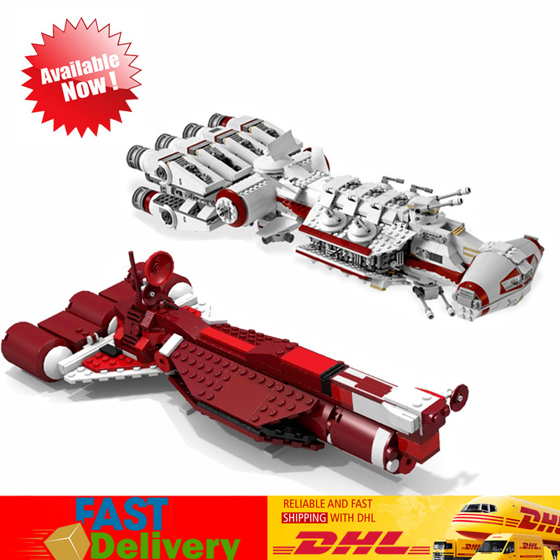 2 pcs/lot Lepin star wars 05046 + 05070 Modèle blocs de construction jouets briques cadeaux pour Enfants Compatible LegoINGlys 10019 7665