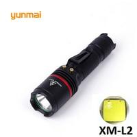 Leistungsstarke LED Taschenlampe NEUE XM-L2 U2 licht 3800 lumen Verwenden AA oder 14500 Batterie taktische tragbare licht laterne Jagd Licht