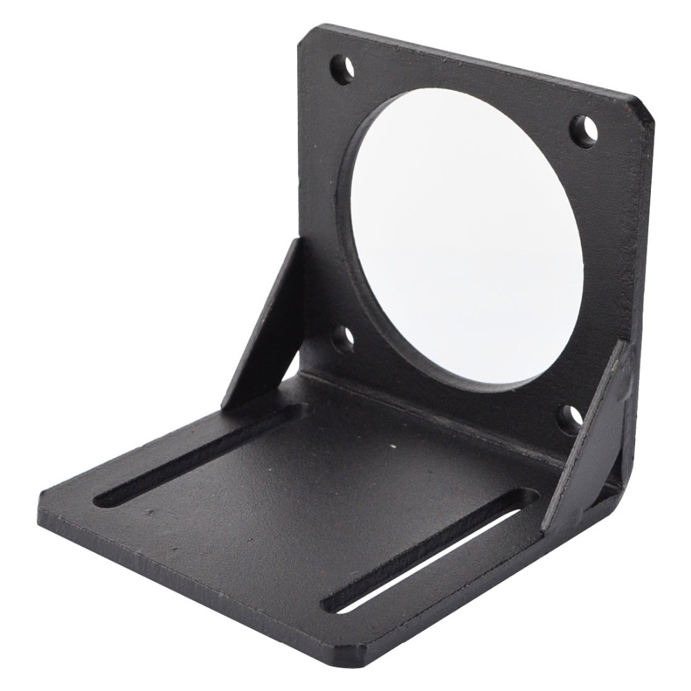 Nema 34 Mounting Bracket Alloy Steel Nema 34 86mm Stepper Motor Bracket for Stepper Motor/3D Printer aluminium alloy mounting bracket for nema 17 stepper motor geared stepper motor