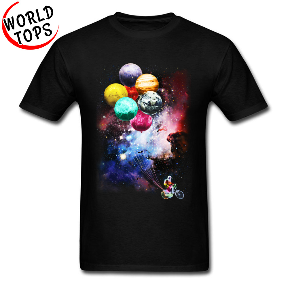 rocket stars space planet Print Women tshirt Cotton Casual Funny t shirt For Lad