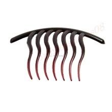 1 шт. Новая мода аксессуары для волос колесо расческа-вилка пластина булавки клип украшения