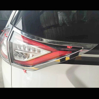 ABS cromado para Ford Edge 2015 accesorios de estilo de coche luces traseras decoración moldura de cubierta de Marco adhesivo 4 Uds