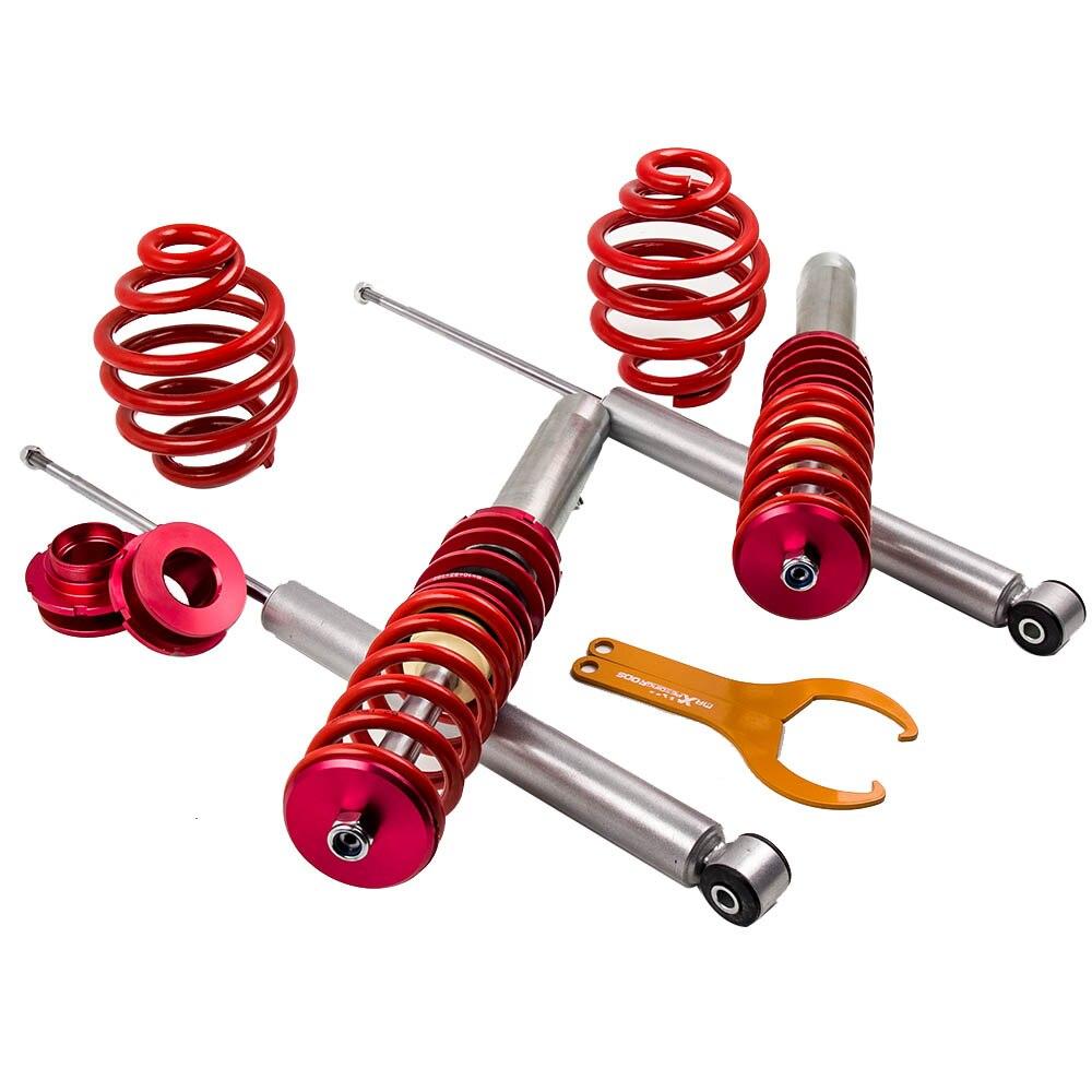 Amortisseurs Coilover pour BMW série 5 E39 520i 523i 528i 530i 525TD 530D amortisseur à ressort rouge