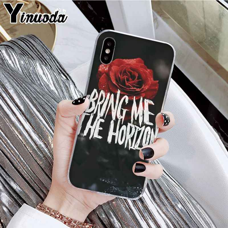 Yinuoda BMTH Me trae el horizonte diseño único de la cubierta del teléfono para Apple iPhone 7 6 6S Plus X XS MAX 5 5S SE XR móvil