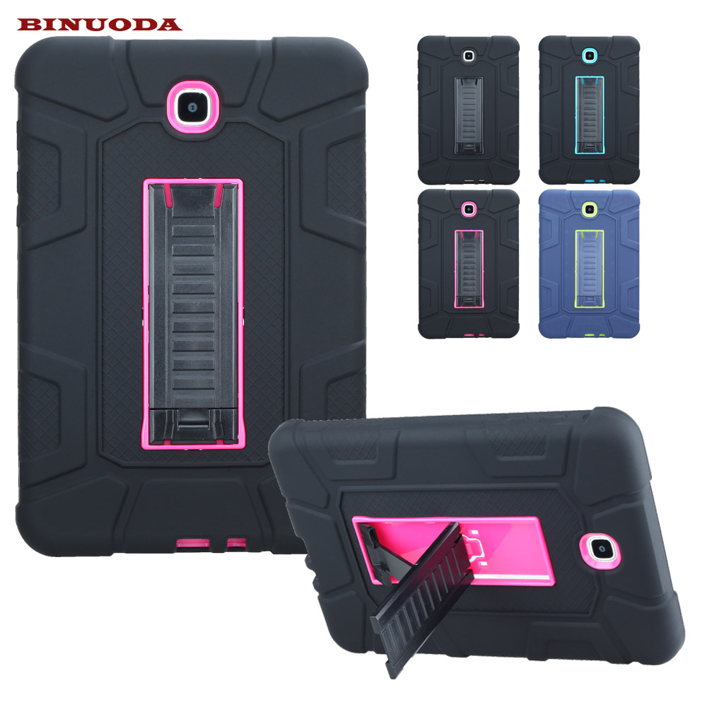 For Samsung Galaxy Tab A 8.0 Case Kids Safe Hybird PC Rubber Shockproof Armor Case Cover for Galaxy Tab A8.0 SM-T350 SM-T355 аксессуар чехол samsung galaxy tab a 7 sm t285 sm t280 it baggage мультистенд black itssgta74 1