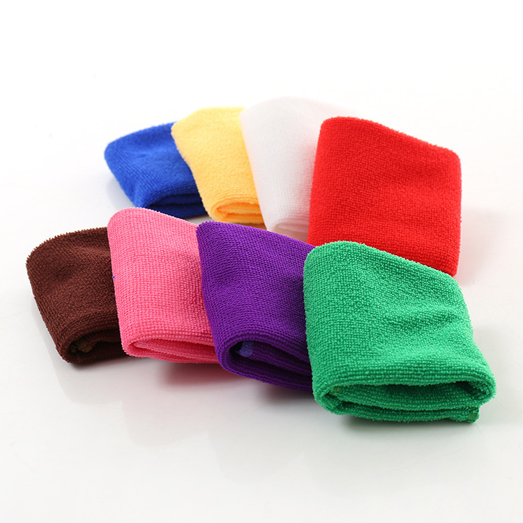Zip Soft Microfiber Towel: Soft Square Microfiber Towel