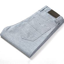 HCXY Brand 2019 Summer high quality Mens Linen Pants man Casual thin trousers Men pantalones male pants Plus size 38