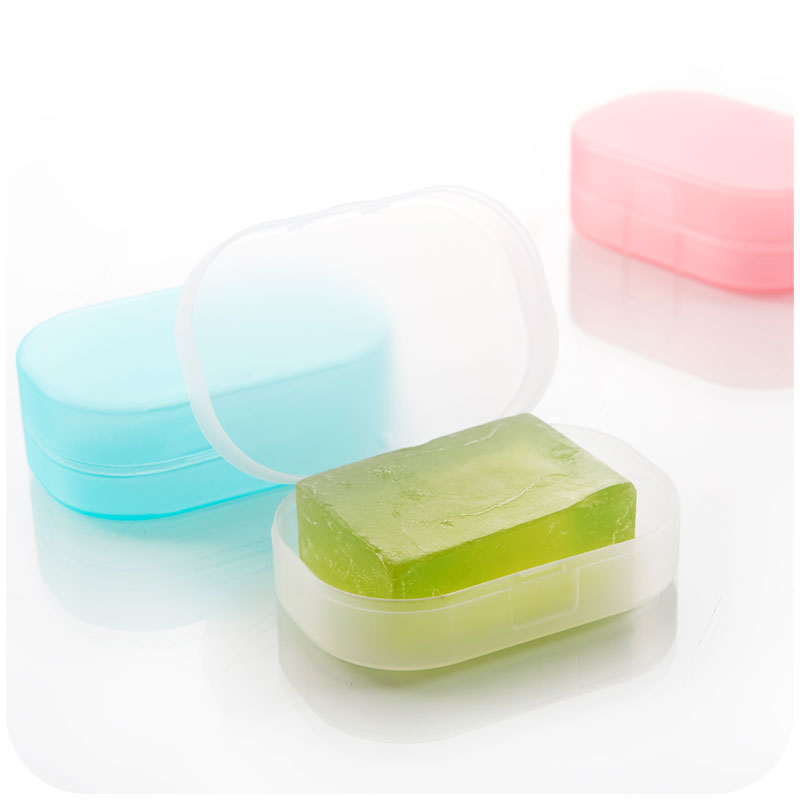 Bathroom Kit aliexpress : buy candy color sponge travel soap dish plate