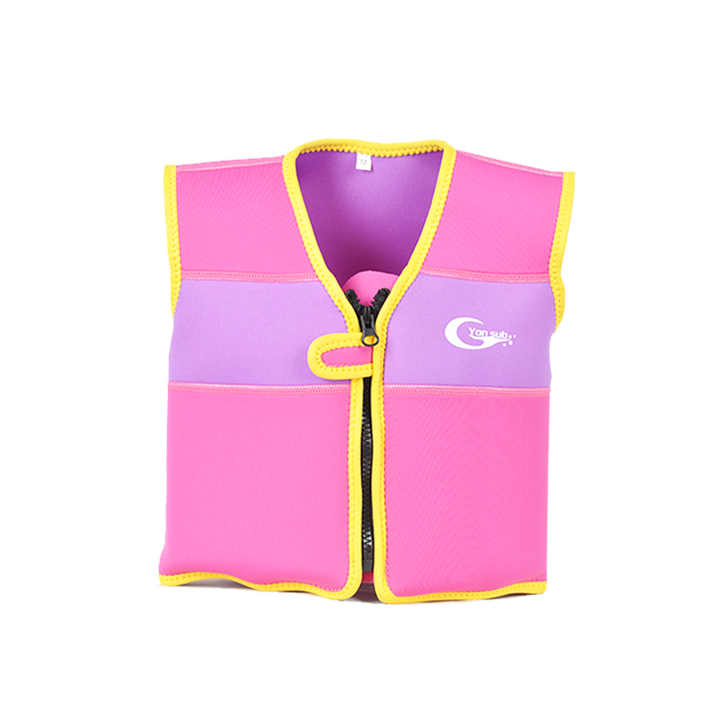 YONSUB Children 39 s life jackets luxury diving material men and women baby snorkeling vest free shipping buoyancy vest in Life Vest from Sports amp Entertainment