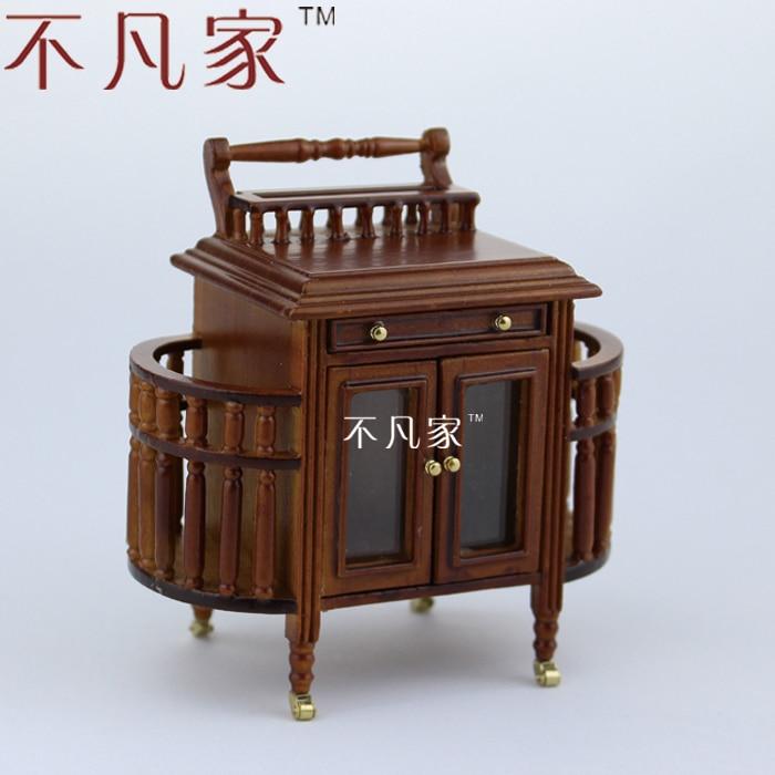 ₪Doll house miniature furniture1   micro mini 12 dining car - a311 fc45474218603