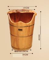 High Steam Machine Steam Foot Bath Barrel Fumigation Barrel Thickened Heated Foot Tub Solid Wood Footbath Foot Pedicure