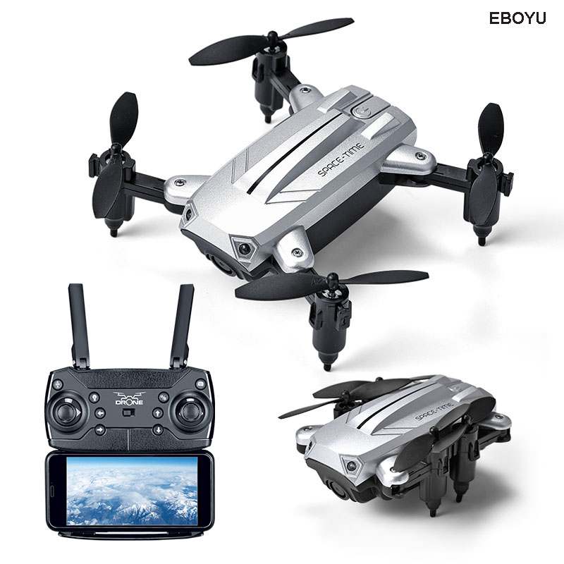 XKY KY301 2.4Ghz Fold RC Drone with WiFi FPV HD Camera Altitude Hold Headless Mode One Key