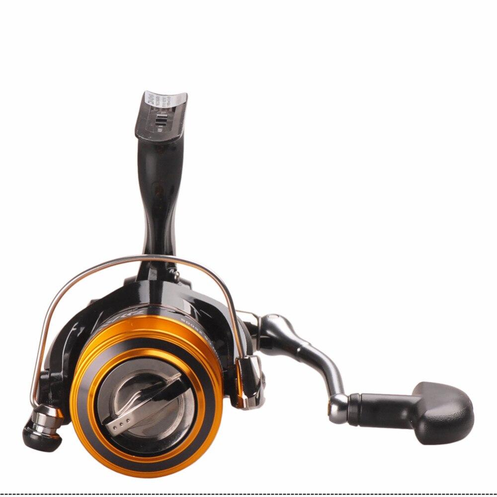rolamento de esferas 5.3:1 moulinets de peche roda fiação carretilha
