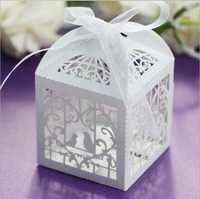 Elegant favor boxes ,paper candy gift bags for wedding party guests
