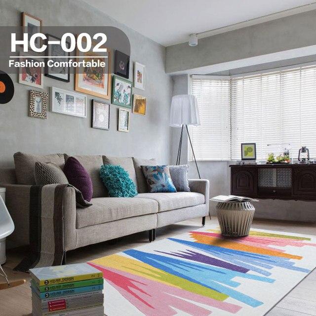 200x300 Cm Nowoczesne Antypoślizgowe Dywany Dywany Akrylowe Symfonia