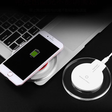 FDGAO Wireless Charger Ultra Thin Charging Pad For iphone XS X 8 Plus Samsung Huawei Mate 20 Pro Qi induction