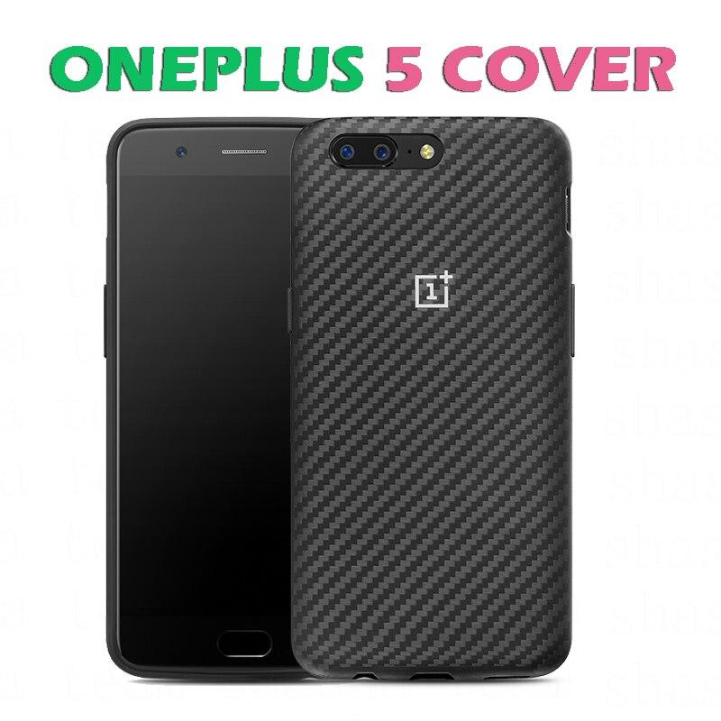 Цена за Оригинальный OnePlus 5 A5000 Карбон бампер BU защитный чехол для OnePlus 5 мобильный телефон кевлар + ТПУ розничная продажа коробка